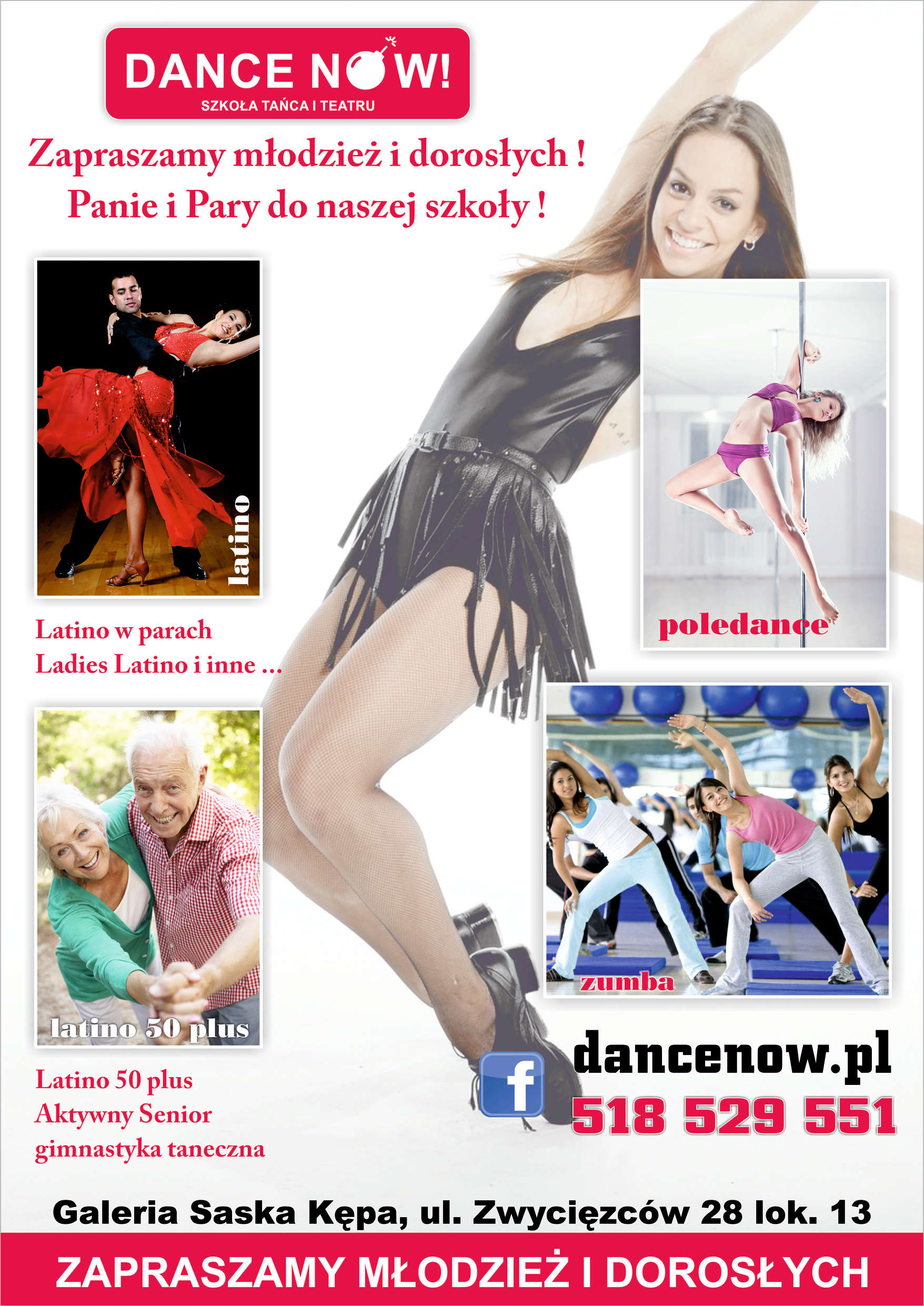Latino, Zumba, Pole Dance - zapisy